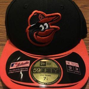 Baltimore Orioles 7-1/4 new era cap. Low crown